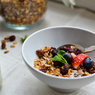 Almond-Cranberry Granola