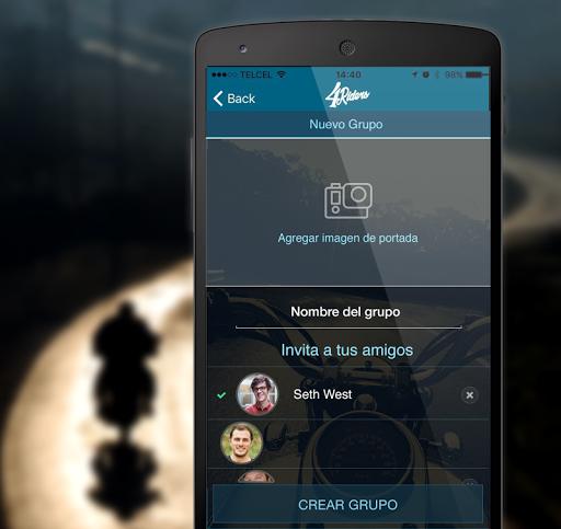 4Riders: Motociclistas y Rodadas 5.22 screenshots 1