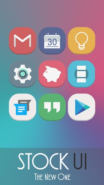 Stock UI – Icon Pack v171.0 [Patched]