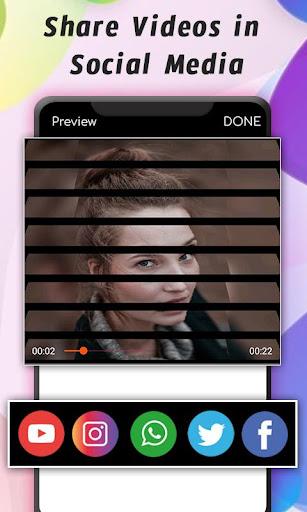PhotoVid - Photo Video Maker con capturas de pantalla de música 8
