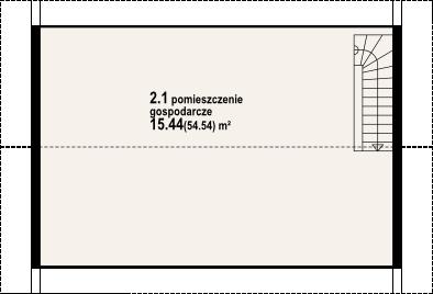 DP-GDS-02S - Rzut poddasza