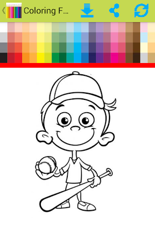 android Coloring For Children Screenshot 1