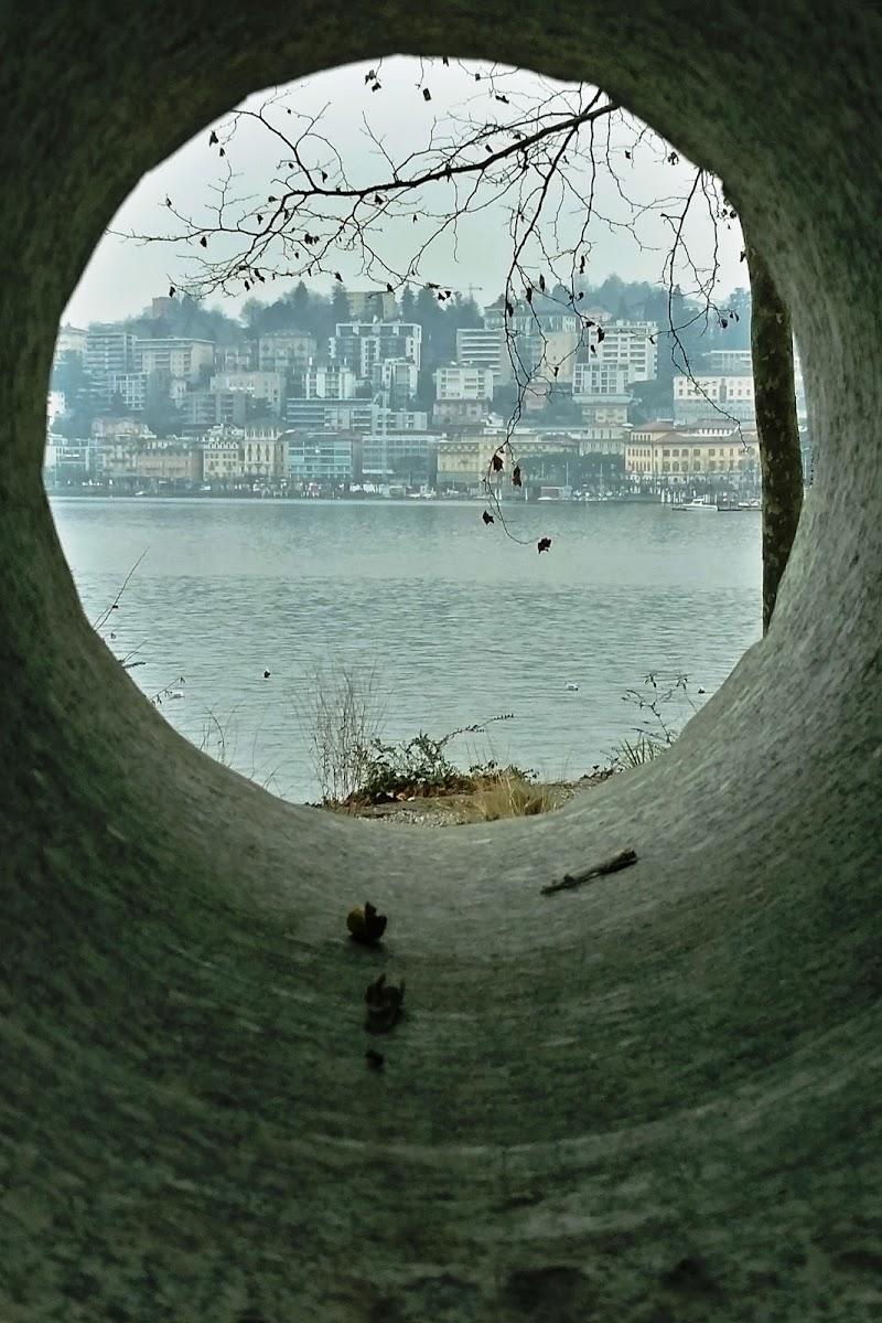 Dai giardinetti uno sguardo sulla città dei grandi di scerda