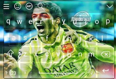 Keyboard For Luis Suarez - náhled