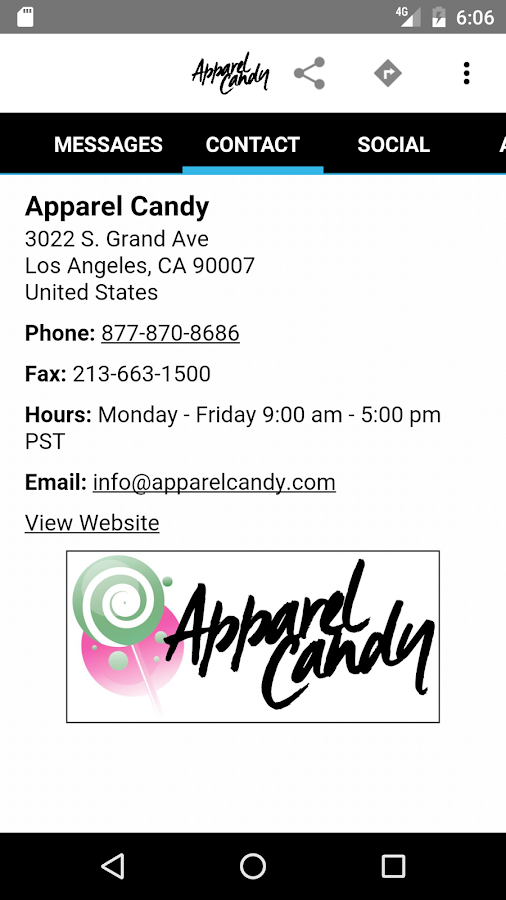 ApparelCandy- screenshot
