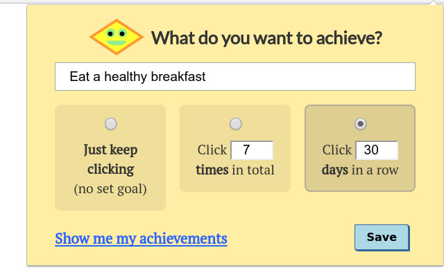 Click Your Achievements