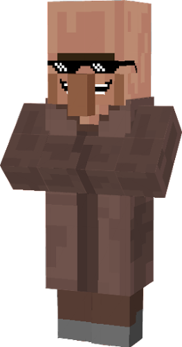 how to make a transparent skin in minecraft