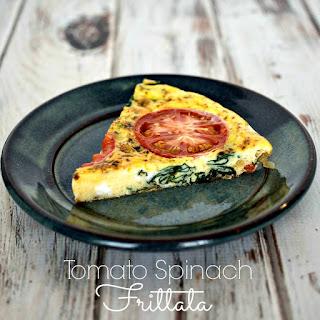 Tomato Spinach Frittata