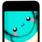 Kawaii Bot : Augmented Reality Diamond Mine Free icon