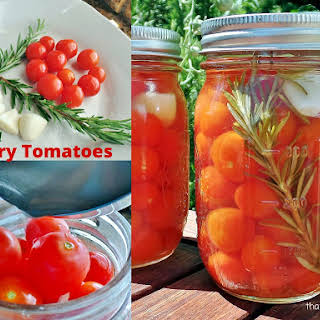 Pickled Cherry Tomatoes.