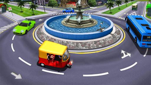 Modern Tuk Tuk Auto Rickshaw: Free Driving Games screenshots 5