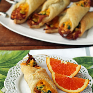Bacon Egg and Cheese Breakfast Pastries Recipe