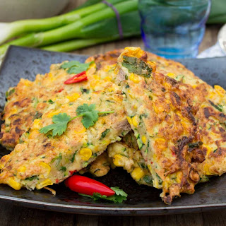 Thai Vegetable Fritters Recipes