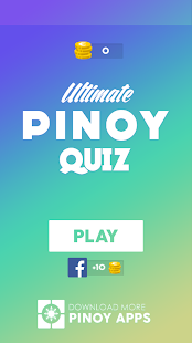 Ultimate Pinoy Quiz- screenshot thumbnail