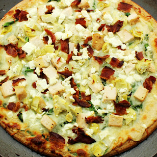 Chicken Garlic Pizza Artichoke Hearts Recipes