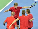 Goffin, Darcis, Coppejans, Vliegen en Gille verdedigen Belgische eer op Davis Cup