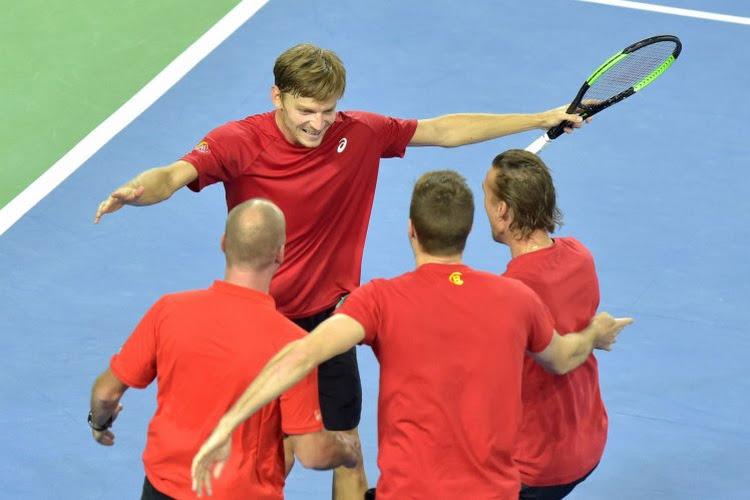Vijf Belgen voor de Davis Cup zijn bekend, Goffin is speerpunt