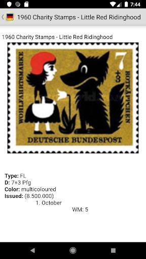 Stamps of German screenshot 14