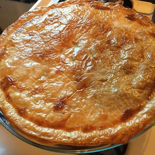 Hatch Green Chile Chicken Pot Pie.