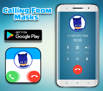Call From Pj Masks - Fake Call - náhled