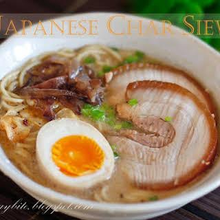 Japanese Char Siew.