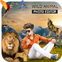 Wild Animal Photo Editor Photo Frames, Sticker icon
