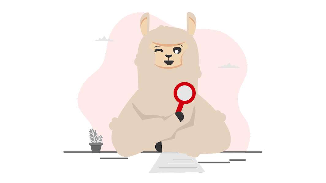 Dino the Alpaca is finding jobs at Dynamite Jobs