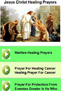 Jesus Christ Healing Prayers - náhled
