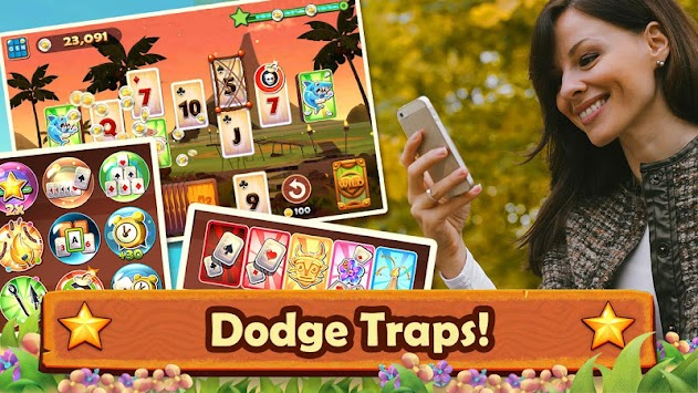 Solitaire TriPeaks apk screenshot