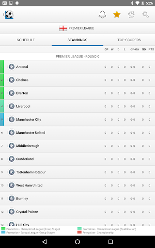 Football Live Scores screenshot 13