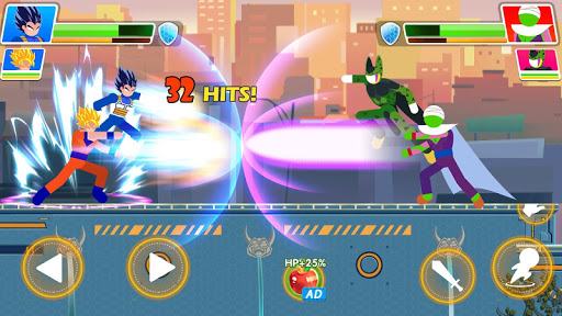 Code Triche Dragon Z Attack - Kung Fu PVP Action Platformer  APK MOD (Astuce) screenshots 3