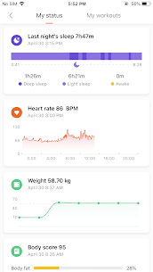 Mi Fit App Download For Android and iPhone 3