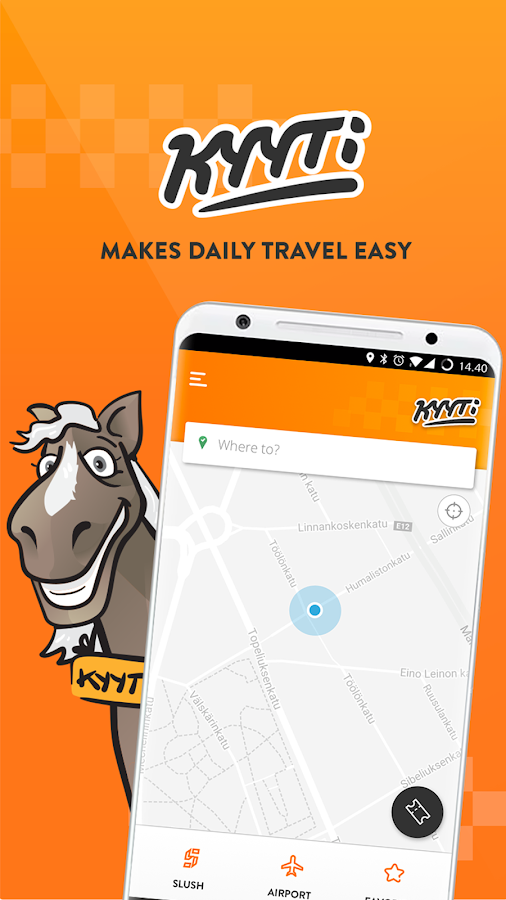 Kyyti Rideshare- screenshot