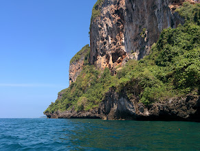 Photo: The cliffs tower a thousand feet over the ocean