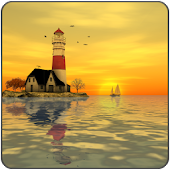 Lighthouse 3D Live Wallpaper
