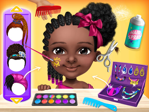 Pretty Little Princess - Dress Up, Hair & Makeup apkpoly screenshots 15