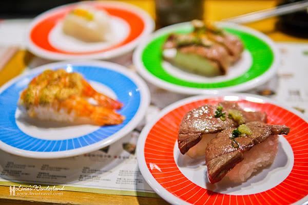 海壽司HiSushi|炙燒牛小排/干貝醬燒鮭魚/優質味美超新鮮迴轉壽司!捷運台北車站