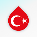 Learn Turkish language and words for free – Drops icon