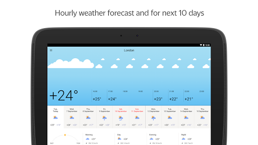 Yandex.Weather screenshot 6