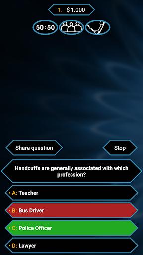 Millionaire Quiz Free: Be Rich  {cheat|hack|gameplay|apk mod|resources generator} 1