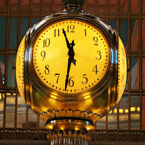 Grand Central Station Clock by Cindy Taverne - Artistic Objects Other Objects (  )