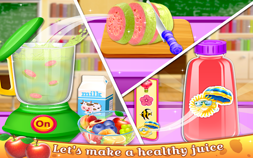 School Lunchbox Food Maker - Cooking Game - náhled