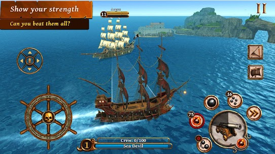 Ships of Battle – Age of Pirates – Warship Battle Mod Apk Download For Android 3