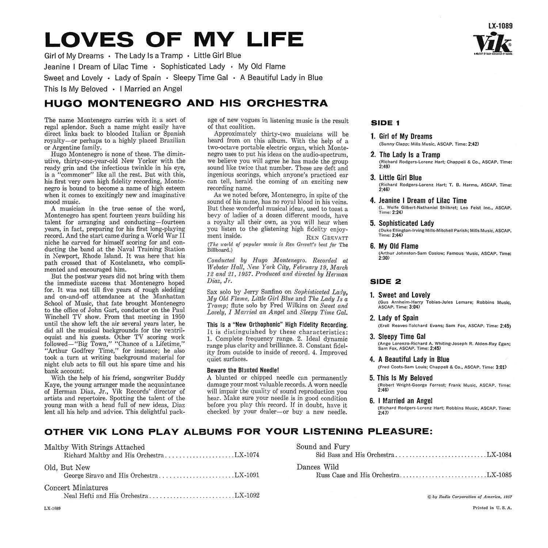 Hugo Montenegro, Vik Records