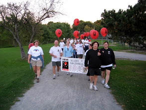 Photo: On we walk for blood cancers