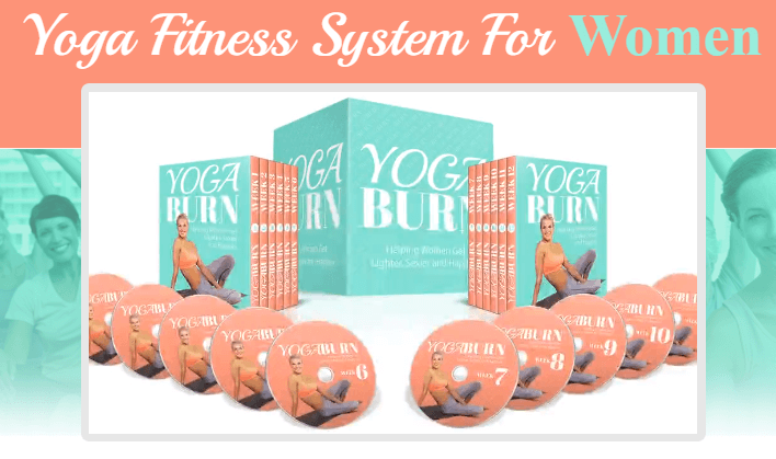 Yoga Burn for Women - Yoga For Weight Loss DVD - Yoga Mats Online Shop