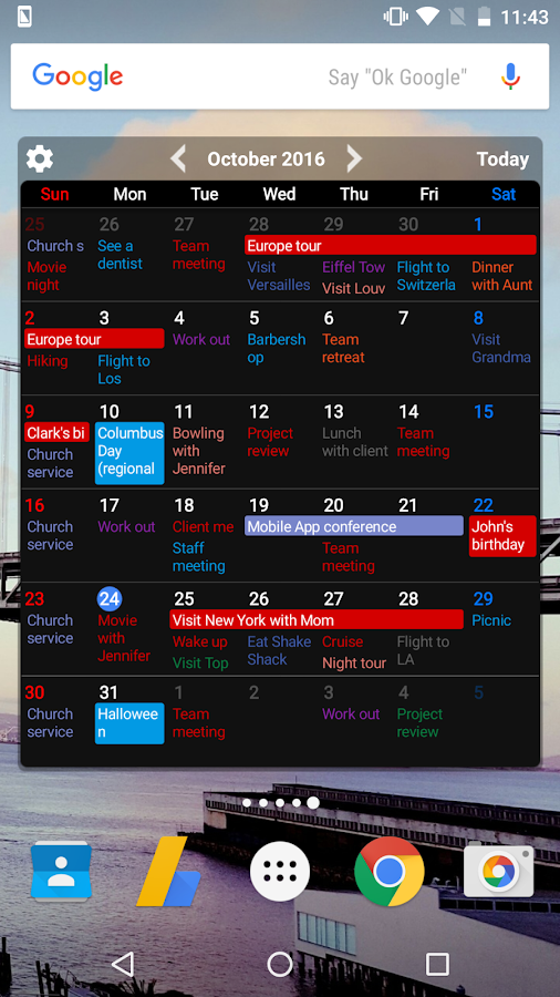 Calendar Planner Application : Calendar schedule planner app android apps on google play