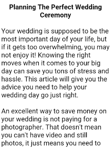 Wedding Planner Book  screenshots 12