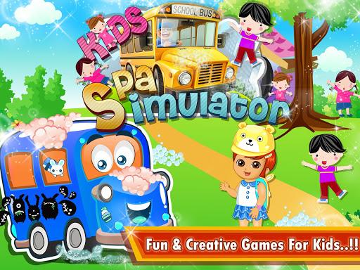 Kids School Bus Spa Simulator 1.0 screenshots 7