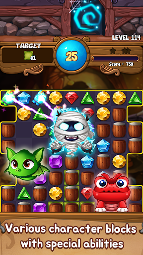 Jewels Time : Endless match 2.3.2 screenshots 3
